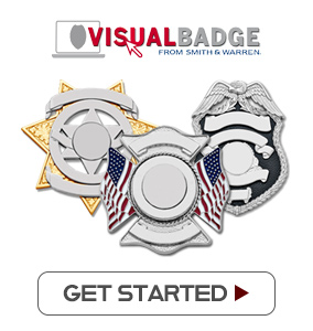 Design your custom badge with VisualBadge. Click to get started. Hundreds of designs available. Preview your badge as you customize it. Electroplate finish of your choice. Choose your preferred center seal and enamel color. Lettering fonts and styles of your choice. Design your own customer seals. Quickest production in the industry. Fine craftmanship. Rest assured you can wear it with pride. Made in the USA. Guaranteed for life with your lifetime warranty.